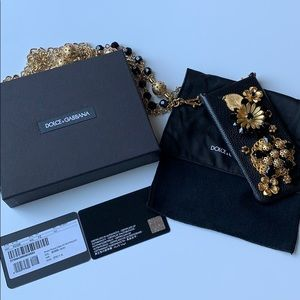 6g iPhone Dolce and Gabbana Crossbody Phone Case